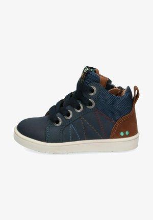 SNEAKERS POL PIT - Sneakers hoog - blauw