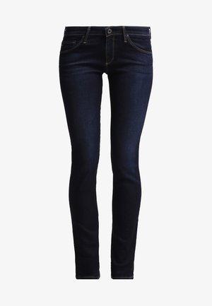 HARPER - Jeans Straight Leg - dark blue denim