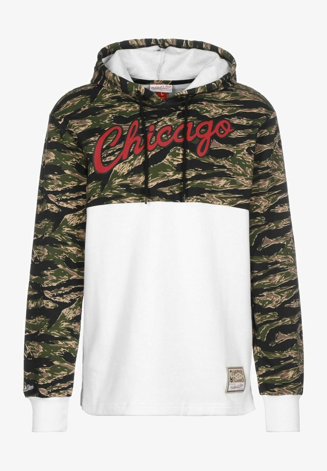 TIGER CHICAGO BULLS - Hoodie - white