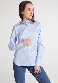 Eterna - Button-down blouse - hellblau - 0
