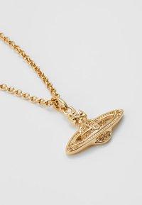 Vivienne Westwood - MINI BAS RELIEF PENDANT - Necklace - light colorado gold-coloured - 2