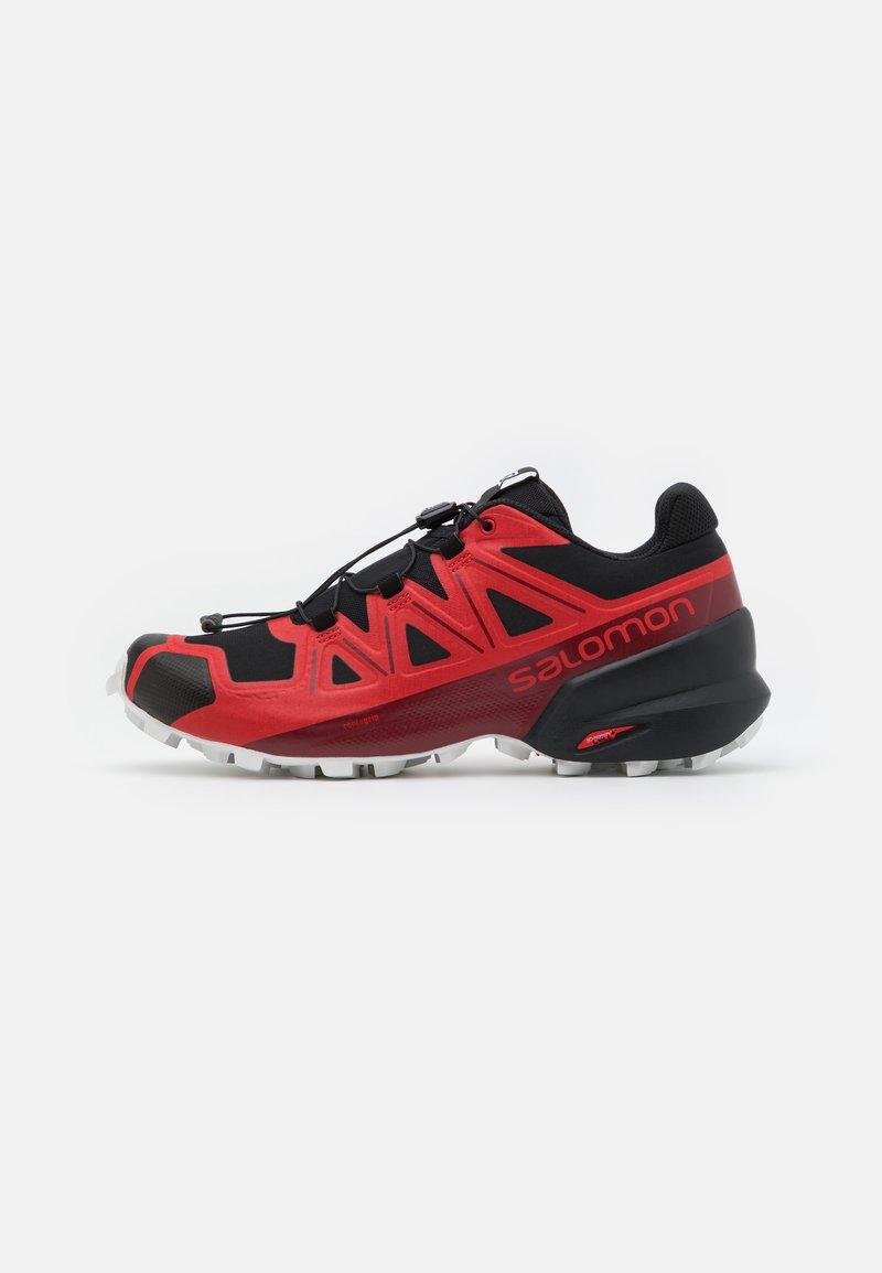 Salomon - SPEEDCROSS 5 - Běžecké boty do terénu - goji berry/white/black