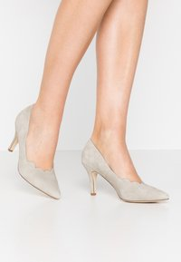 Anna Field - LEATHER - Classic heels - grey - 0