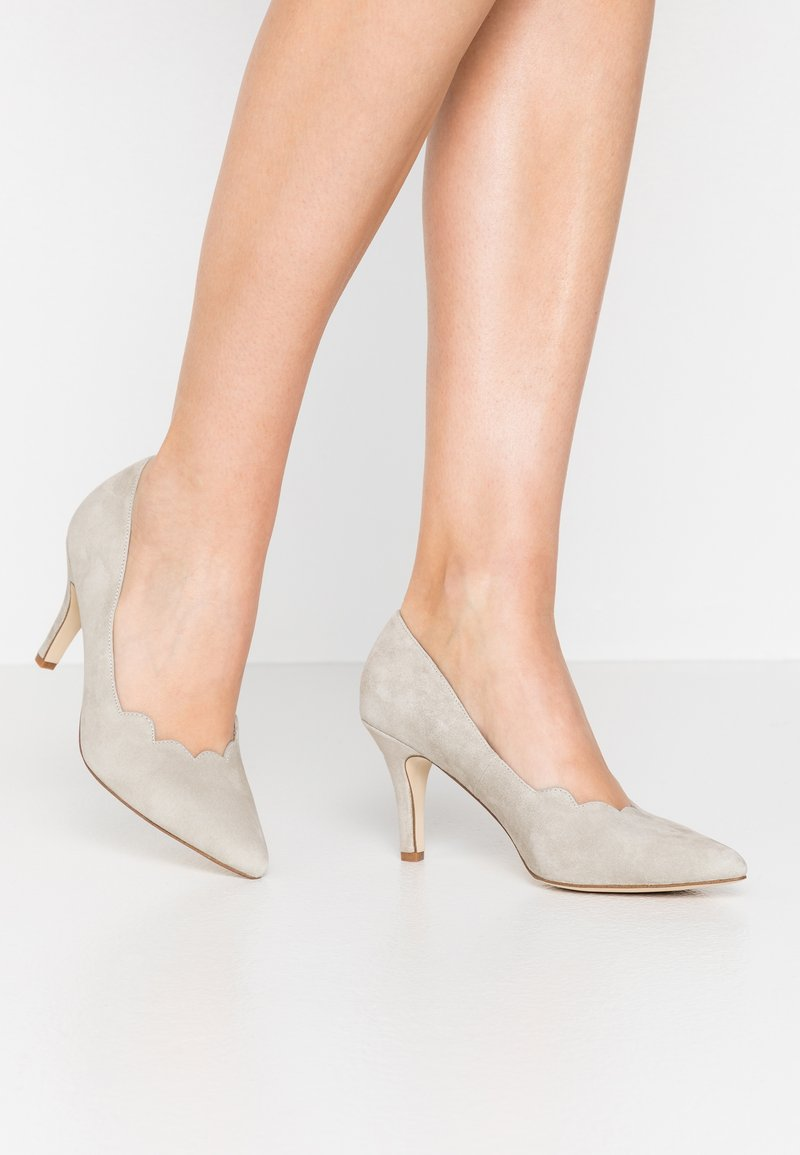 Anna Field - LEATHER - Classic heels - grey