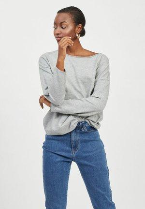 VITALLI BOATNECK - Sweter - light grey melange