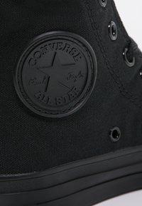 Converse - CHUCK TAYLOR ALL STAR HI - Sneaker high - noir - 5