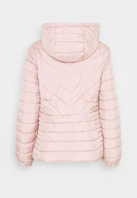 New Look - LIZZIE LIGHTWEIGHT PUFFER - Light jacket - pale pink - 1