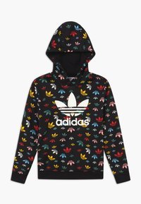 adidas Originals - HOODIE - Jersey con capucha - black/multicolor/white - 0
