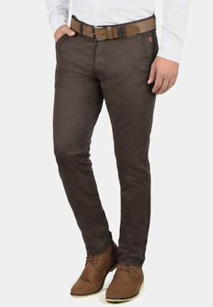 TROMP - Chinos - coffee brown