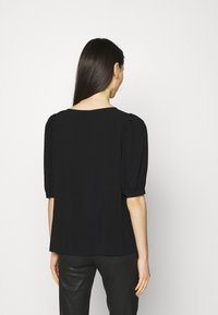ONLY - ONLKARMA LIFE  SOLID - Basic T-shirt - black - 2