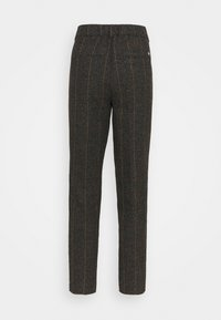 Mos Mosh - GERRY BOUCLE PANT - Trousers - chocolate chip - 1