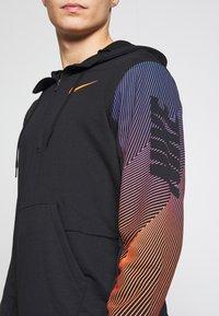 Nike Performance - DRY HOODIE - Luvtröja - black - 5
