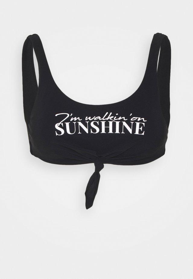 NOUO BEACHBABE - Bikinitopp - noir