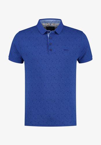 Polo shirt - cobalt