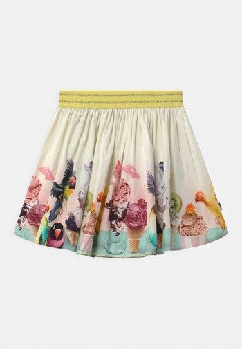 BRENDA - Mini skirt - off-white
