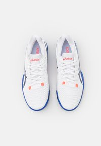 ASICS - SOLUTION SPEED FF CLAY - Clay court tennis shoes - white/peacoat - 3