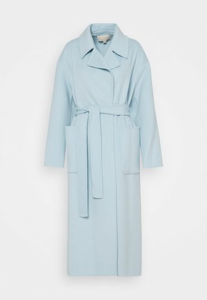 FACE ROBE COAT - Klassinen takki - sky blue