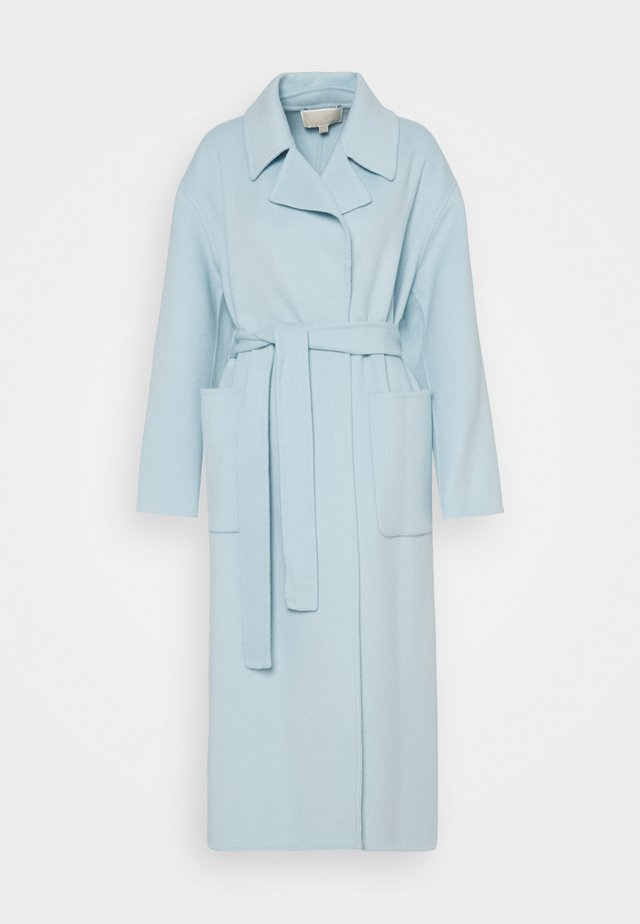 FACE ROBE COAT - Wollmantel/klassischer Mantel - sky blue