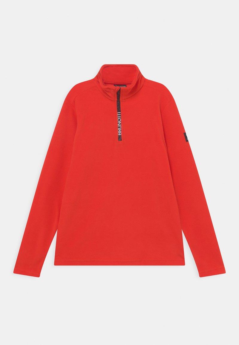 Brunotti - TENNY BOYS - Fleece jumper - flame red