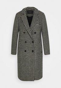 Scotch & Soda - DOUBLE BREASTED TAILORED COAT IN BLEND - Classic coat - black - 4