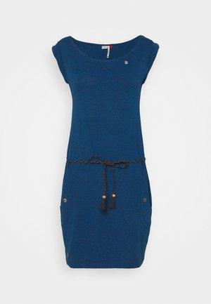 Pouzdrové šaty - navy