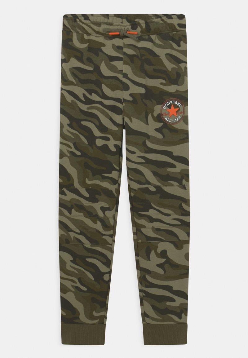 Converse - CAMO KNEE PATCH - Pantaloni sportivi - multi-coloured