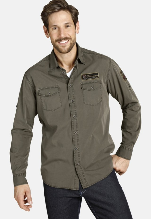 ATHUR - Shirt - olive