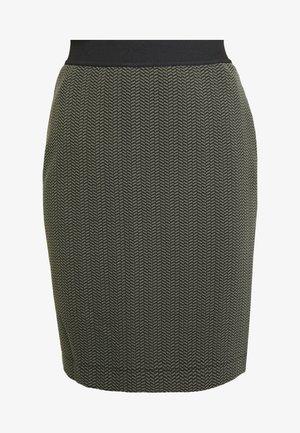 KAROLA - Blyantnederdel / pencil skirts - olivgrün