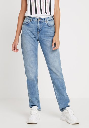 THE KEEPER - Slim fit jeans - light blue denim