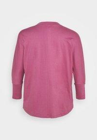 Simply Be - HIGH NECK LONG SLEEVE - Long sleeved top - plum - 1
