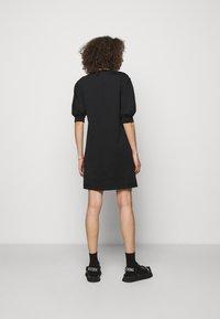 MOSCHINO - DRESS - Jersey dress - black - 2