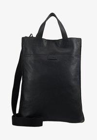 Zign - UNISEX LEATHER - Shopping bags - black - 4