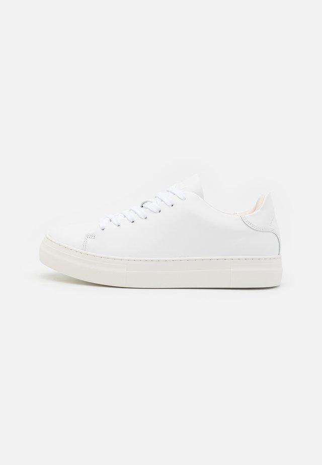 SLHDAVID CHUNKY CLEAN - Sneakers laag - white