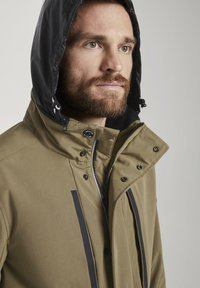 TOM TAILOR - Summer jacket - olive - 3