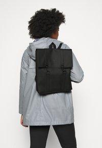 Rains - BAG MINI - Plecak - black - 0