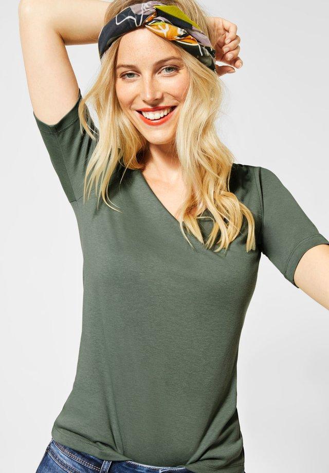 PALMIRA - Basic T-shirt - grün