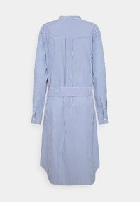Maison Labiche - DRESS GOOD VIBE - Shirt dress - white/blue - 8