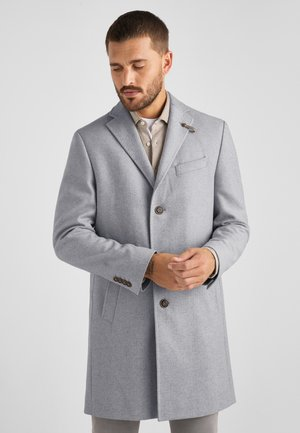 Short coat - grey flannel melange