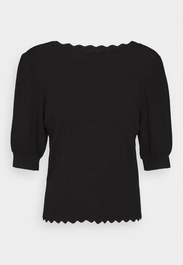 OBJHANNA  - T-shirts print - black