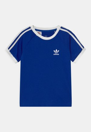 STRIPES UNISEX - Print T-shirt - royblu/white