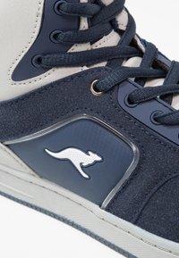 KangaROOS - K-BASKLED II - High-top trainers - blue/vapor grey - 5