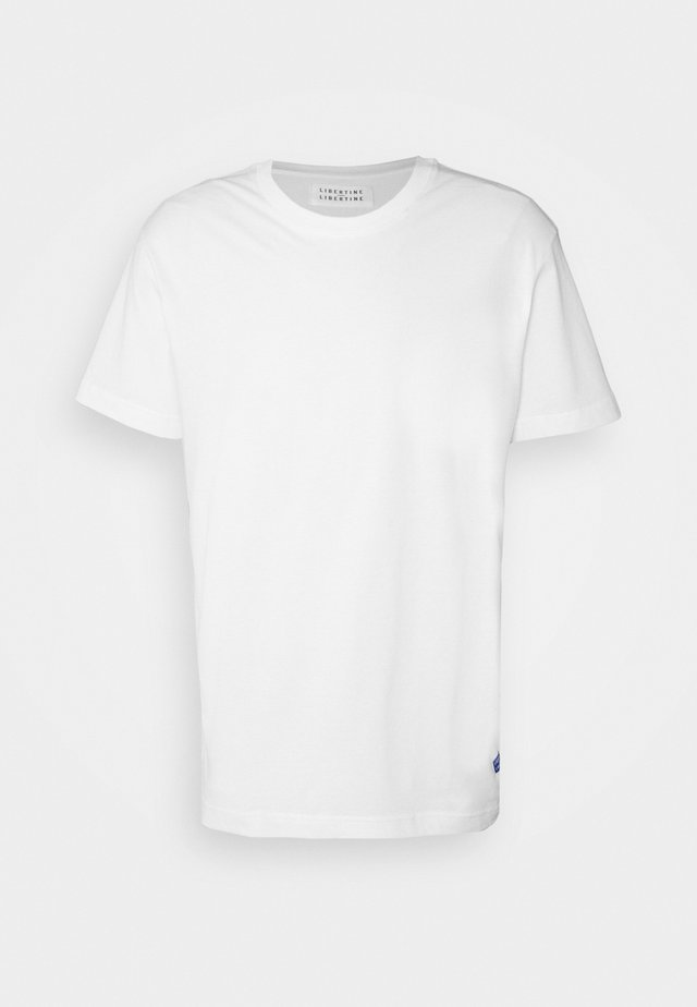 BEAT LOGO - T-shirt basique - white