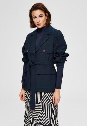 Outdoor jacket - dark sapphire