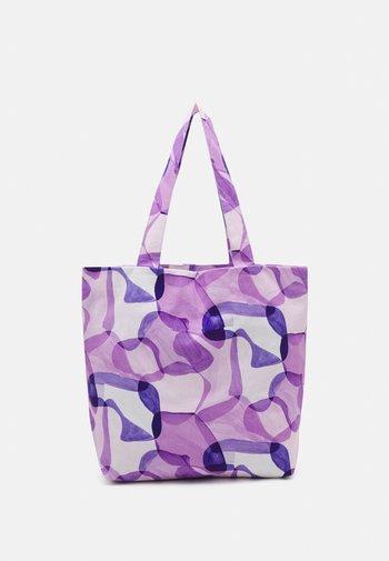 TOTE BAG PRINT UNISEX - Tote bag - purple