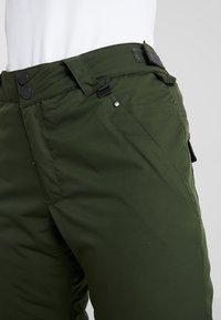 Rojo - PANT - Pantaloni da neve - kombu green - 5