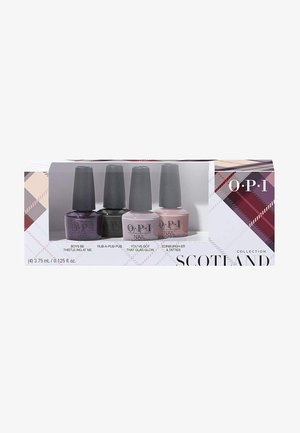 SCOTLAND COLLECTION NAIL LACQUER MINI SET - Nail set - dcu01 - good girls gone plaid 4er mini set