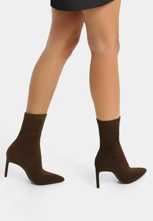 STRETCH  - Classic ankle boots - dark brown