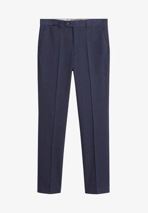PAULO - Suit trousers - blue