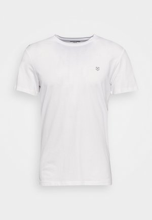 JPRBLABOOSTER TEE  - Jednoduché triko - white