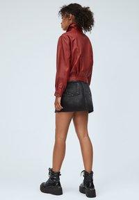 Pepe Jeans - LENA - Leather jacket - tibetan red - 2